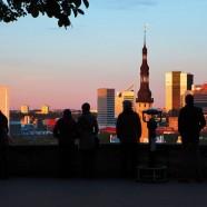 Tallinn old town view