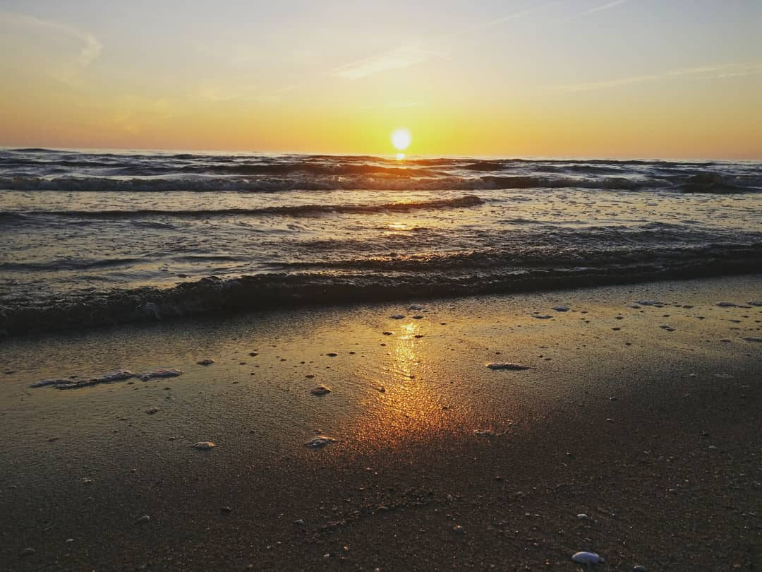 Baltic Sea sunset