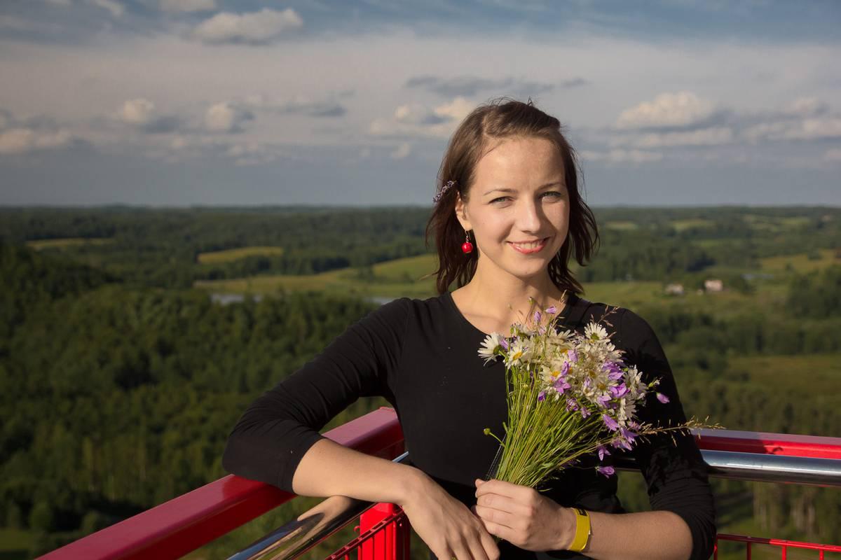 Narva Romantic cute girl in